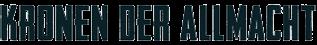 Offizielle Website | Buchreihe Kronen der Allmacht